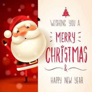 Collega een fijne kerst wensen