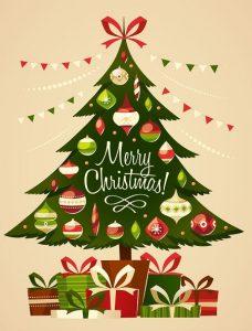 Kerstwens zakelijk
