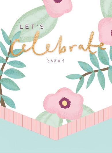 Sarah 50 jaar tekst