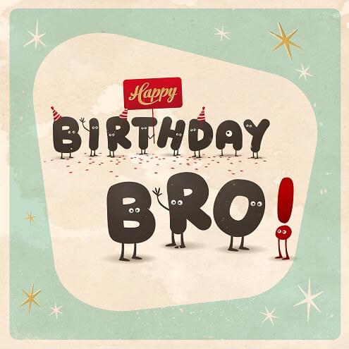 Verjaardag broer