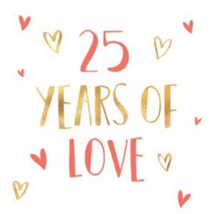 25 jaar jubileum