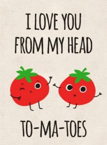 I love you from my head to-my-toes