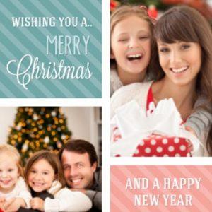 Kerstkaart uitnodiging