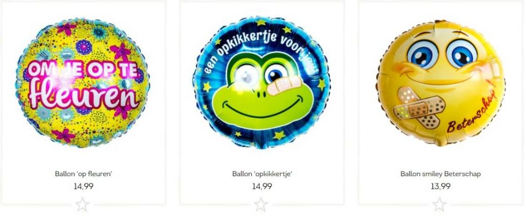 Beterschap ballon
